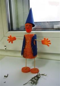 поделки из моркови 6