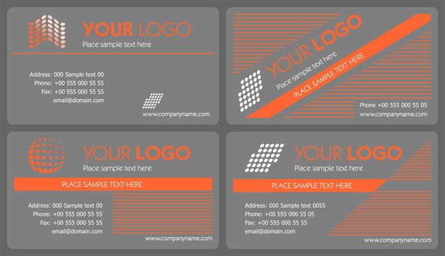 Business card set 03