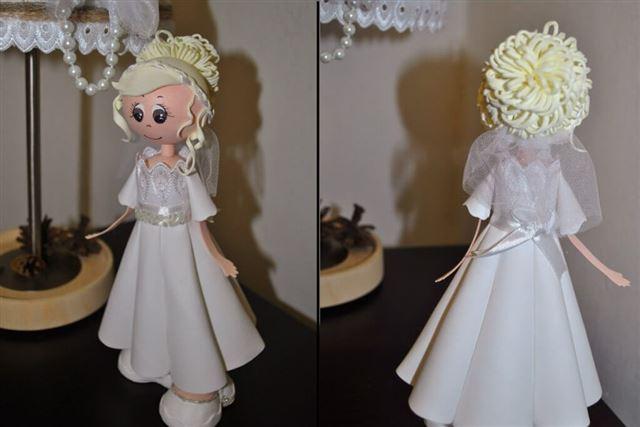 Как сделать куклу из фоамирана своими руками в домашних условиях