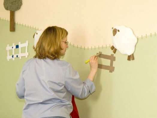 sheep-to-decorate-nursery-walls_2