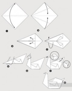 Инструкция по изготовлению оригами