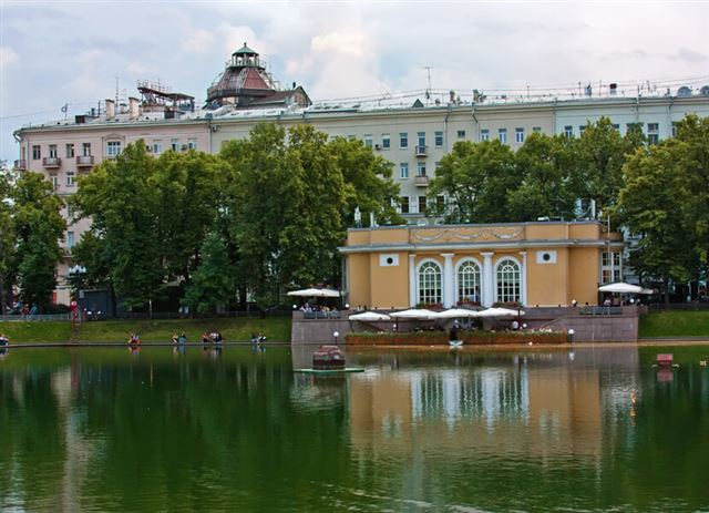 Patriarch Ponds,Moscow,Russia