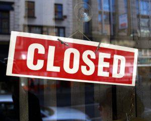 Банк закрылся