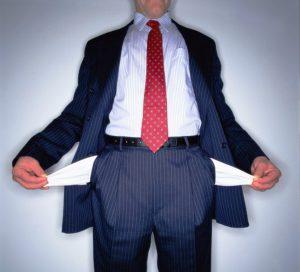 Человек с пустыми карманами