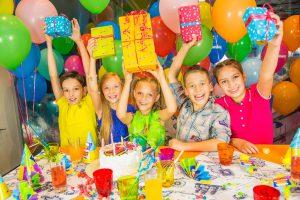 Дети на день рождения