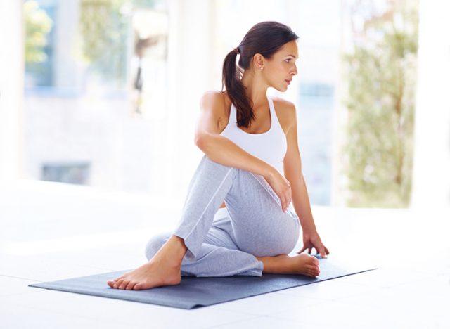Гимнастика при остеохондрозе