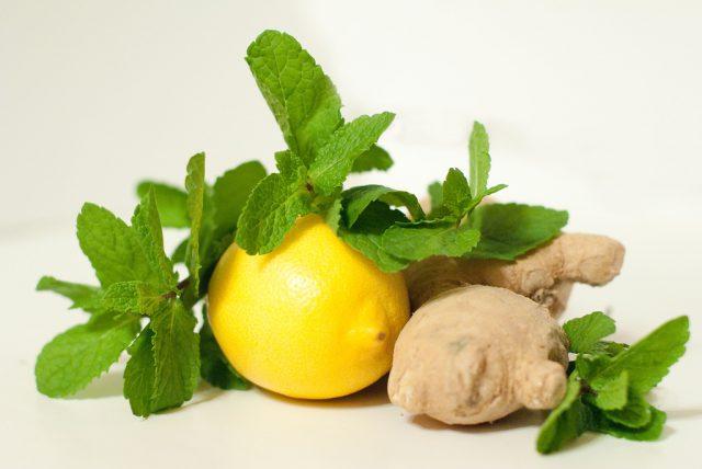Имбирь лимон