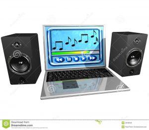 компьютер музыку