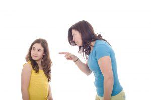 Конфликт с детьми