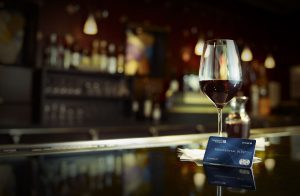 Кредитная карточка на столе