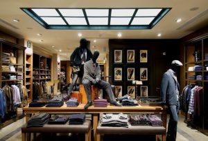 Магазин с мужской  одежды
