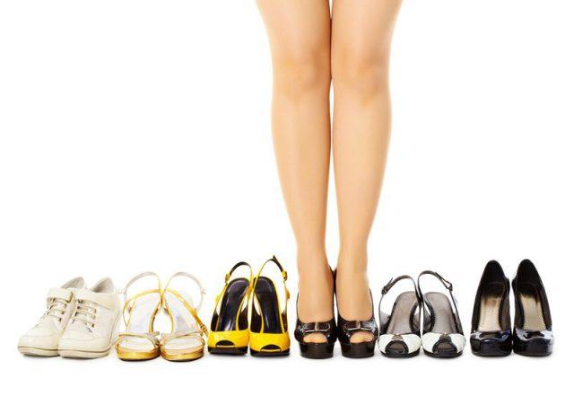 Неправильная обувь