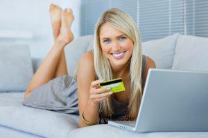 Оплата в магазине кредиткой