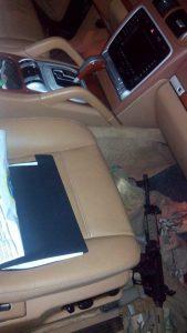 Что лежит под водительским сиденьем