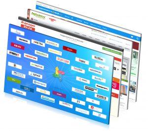 Продажа с помощью сайтов