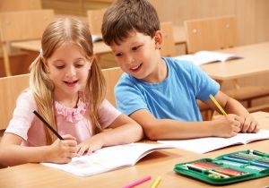 Ребенок на подготовительных занятиях