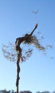 Семя летит по ветру