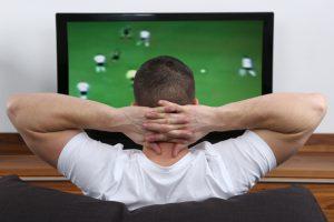 Спорт перед телевиором