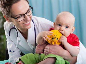 В поликлинике с ребенком