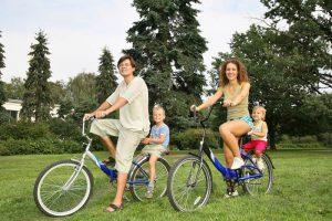 Велосипеда перевозить пассажира