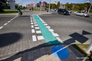 Велосипедист знак главная дорога