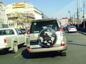 Водитель правый поворотника