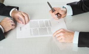 Заключение договора в банке