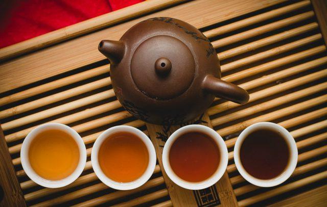 Чайная церемония пуэр