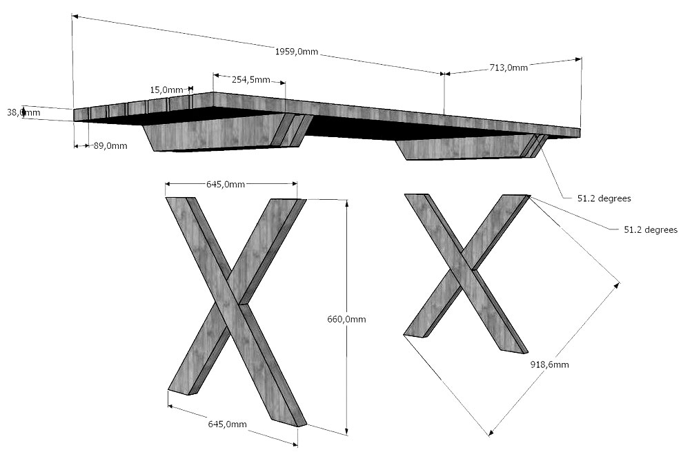 Чертеж деревянный складной стол своими руками