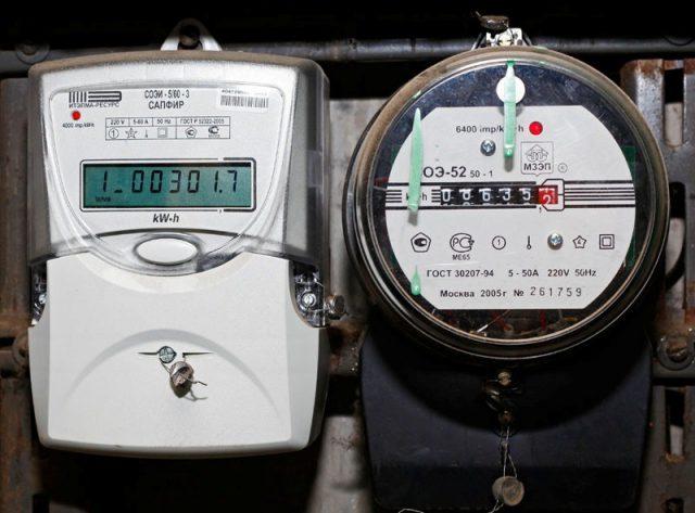 Индукционные счетчики на электронные