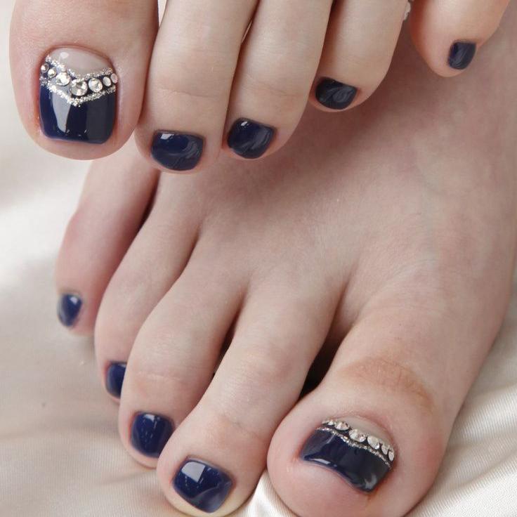 Дизайн ногтей на ноги