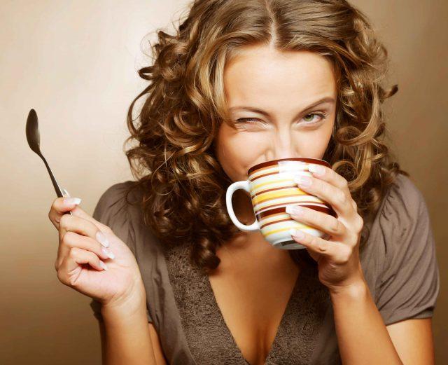 Пить зеленый чай