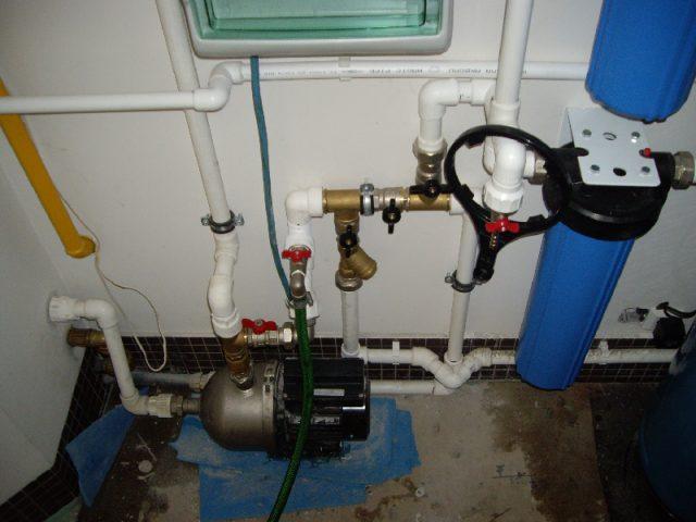 Последовательная схема водоснабжения на даче
