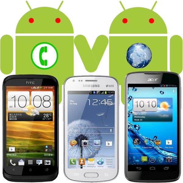 Смартфоны на андроиде