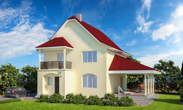 Утепленный дом пенопластом