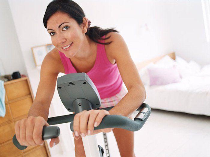 Как похудеть крутить велотренажер чтобы
