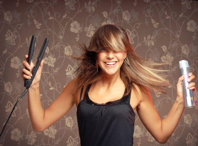 Выравнивать волос