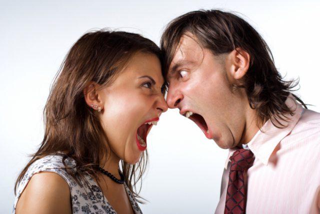 Спорить с мужчиной