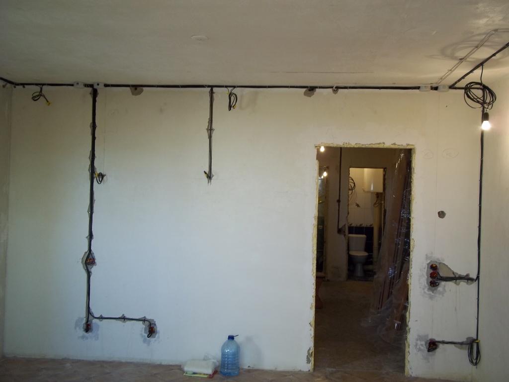 Монтаж электропроводки квартире своими руками