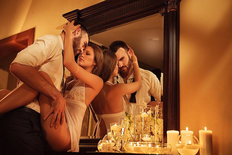 Вечерний секс с мужем