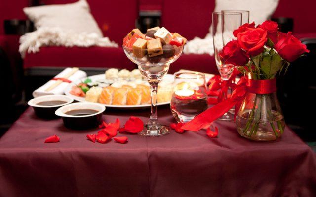 Меню романтического ужина