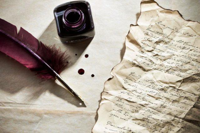 Писать девушке письмо