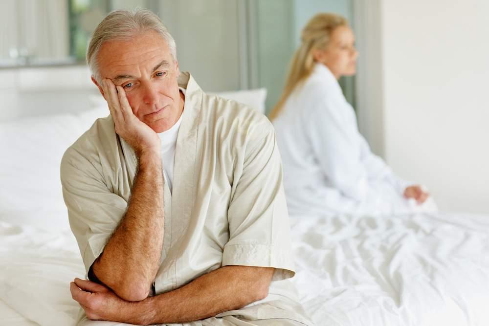 Как снизить потенцию у старика без его ведома