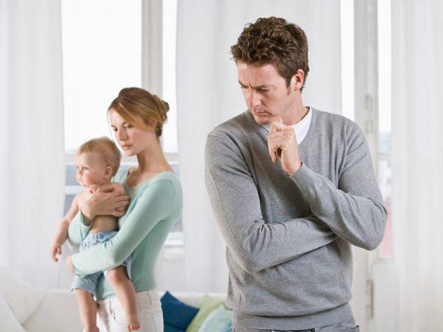 Развод с мужем есть ребенок