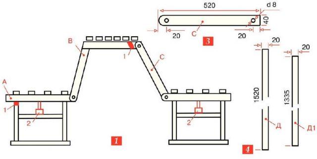Как сделать лавку-трансформер своими руками