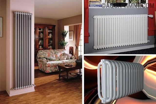 Стальные трубчатые радиаторы для частного дома