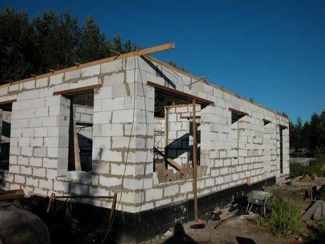 Дачный домик из сибита своими руками 8