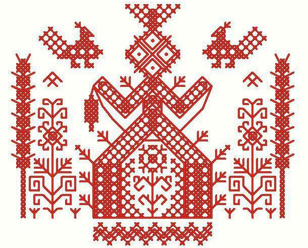 Славянские вышивка для дома