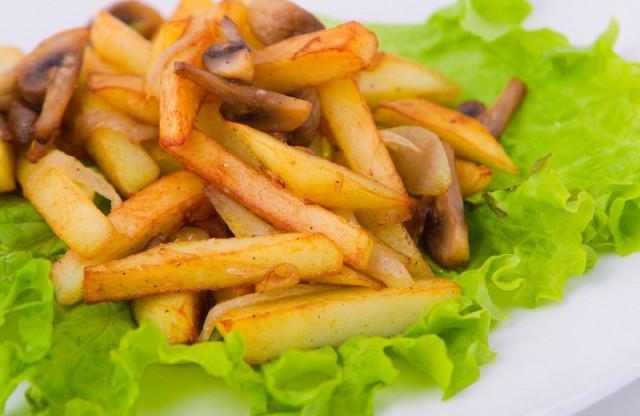Как пожарить картошку в мультиварке