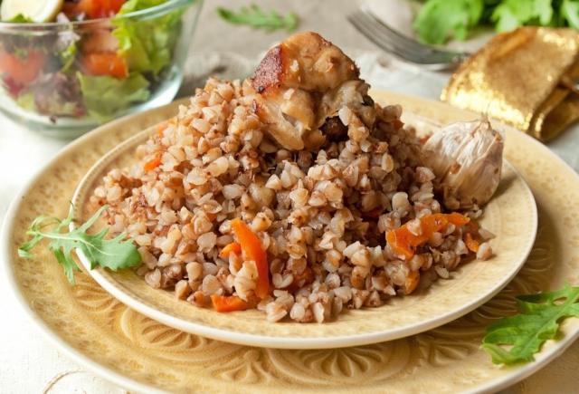 Как сдеалть подливку к гречке из курицы